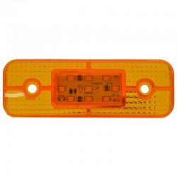 Gabaritna lampa led žuta 9 -diode 12-24V