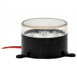 Lampa fi55 led bela 7 -diode 24V
