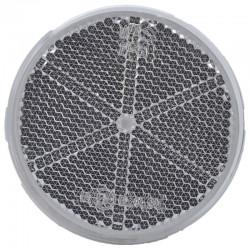 Katadiopter beli okrugli fi61 samolepljiv