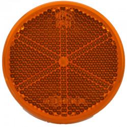 Katadiopter žuti okrugli fi61 samolepljiv
