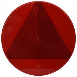 Katadiopter crveni okrugli fi156 samoljepljiv
