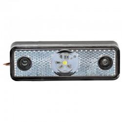 Gabaritna lampa led bela 1 -dioda