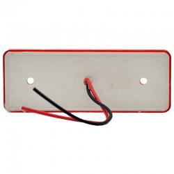 Gabaritna lampa led crvena 4 -diode ravna