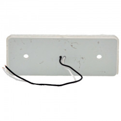 Gabaritna lampa led bela 4 -diode ravna
