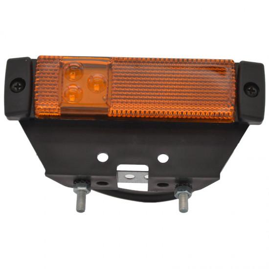 Gabaritna lampa led žuta 3 -diode sa nosačem