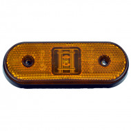 Gabaritna lampa led žuta 1 -dioda