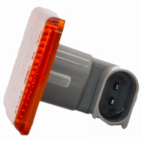 Gabaritna lampa led žuta 6 -diode sa džekom MB Actros, Atego