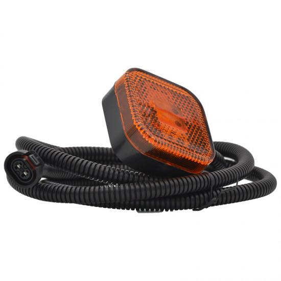 Gabaritna lampa led žuta 4 -diode sa kablom i džekom Man >2008