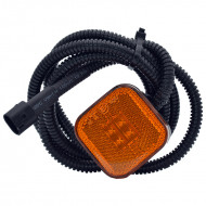 Gabaritna lampa led žuta 4 -diode sa kablom i džekom Man 2009>